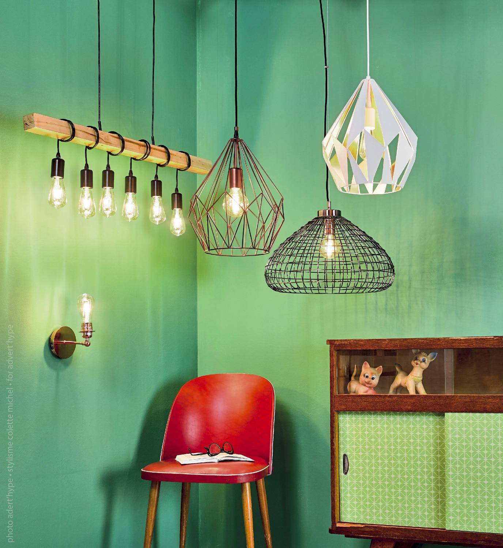 idée de luminaire vintage 2020, décoration d'intérieur, Pinterest