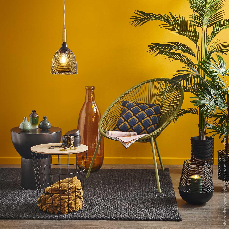 décoration studio photo  – table et chaises exotique