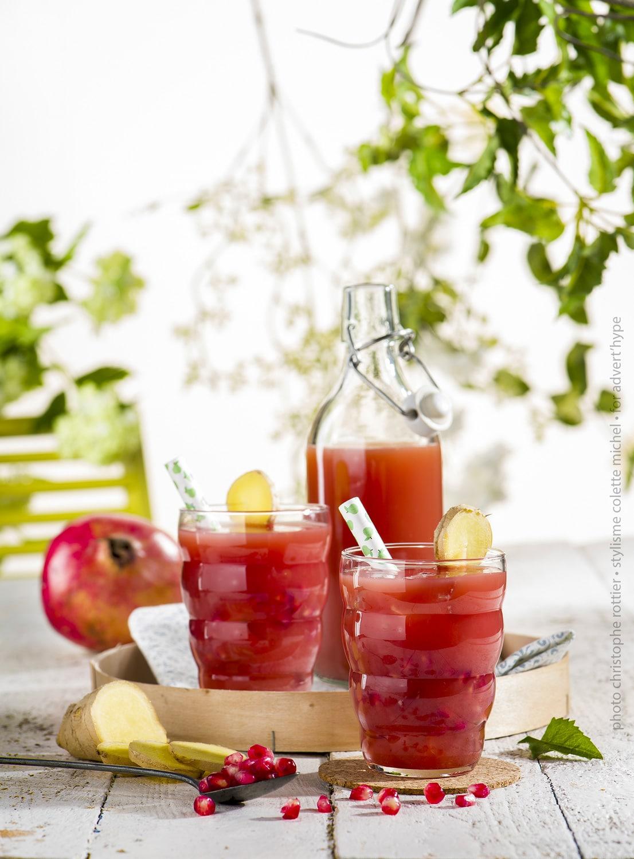 stylisme culinaire, idées de limonade