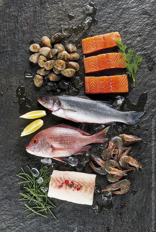 poisson, fruit de mer