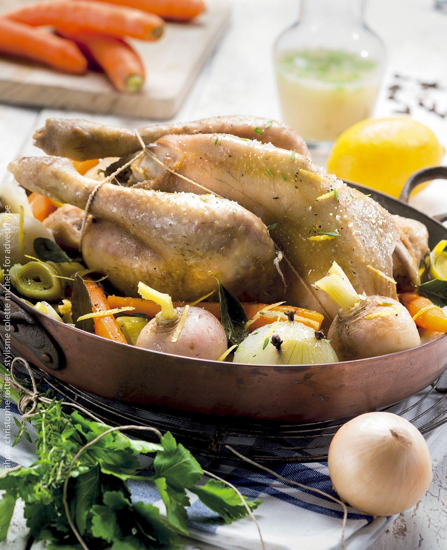 idées de poulet rôtie, 2020, stylisme culinaire