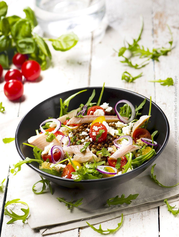 Meilleures idées de recette de salade au quinoa -stylisme – arts de la table