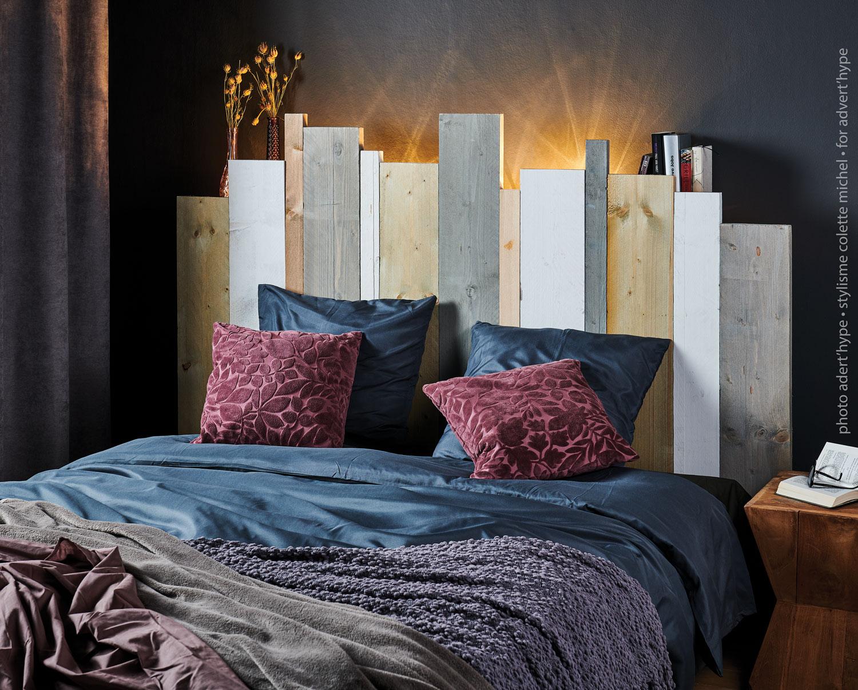 tête de lit DIY décoration d'intérieur – Stylisme déco