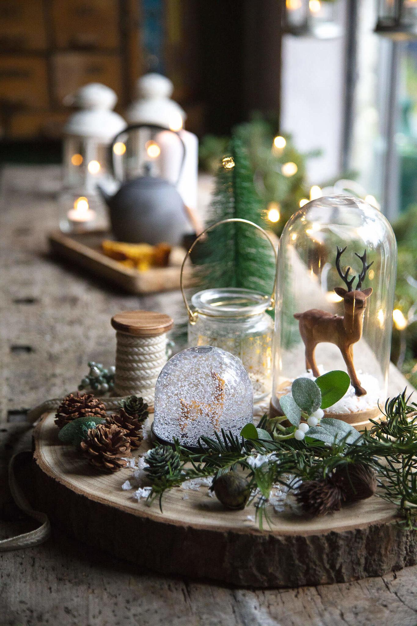 photo d'un renne – table de Noël 2021